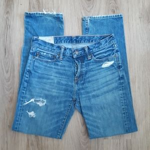 Abercrombie and Fitch | classic straight cut jeans